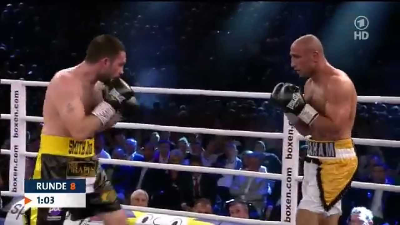Бокс Abraham vs. Smith