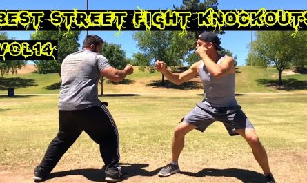 Street fights with a knockout
