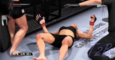 Female MMA Knockouts — Best from 2017